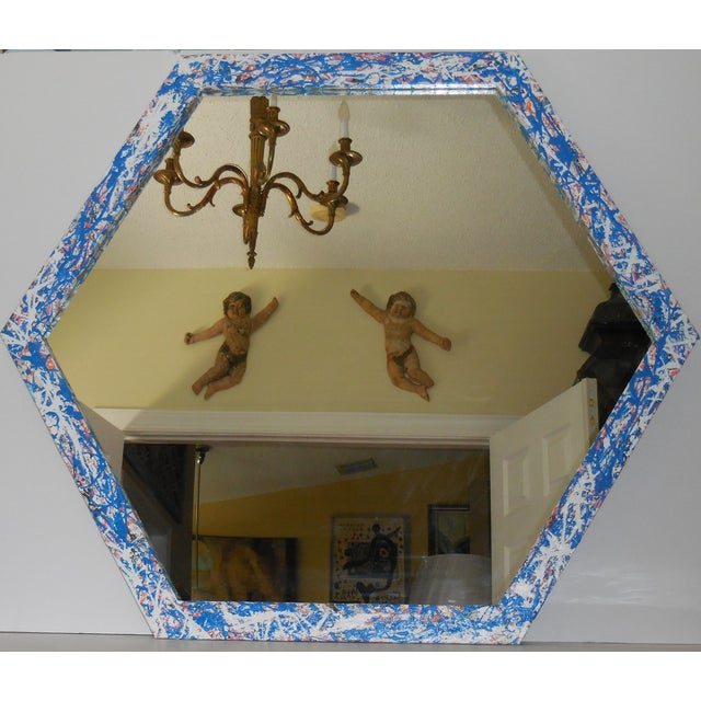 Artistic Six Sided Mirror - Image 11 of 11