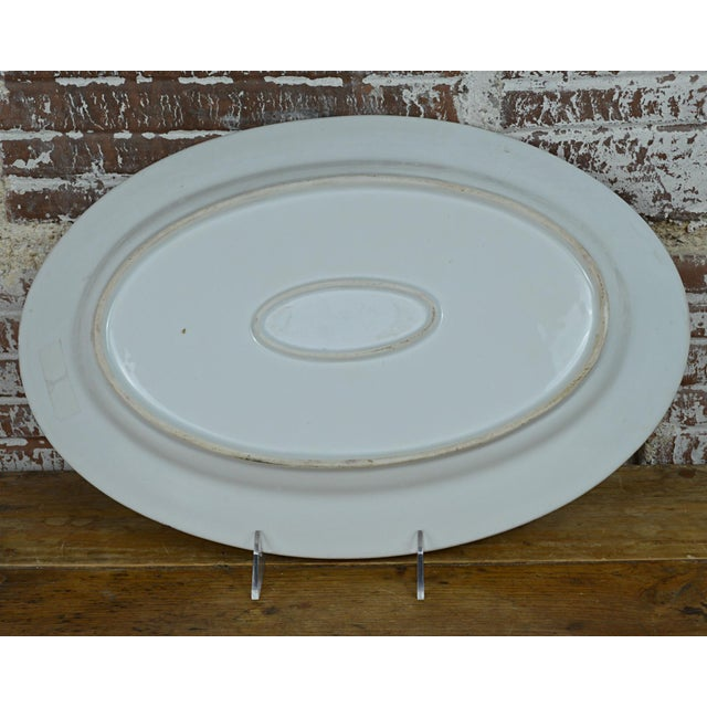Ceramic Porcelain Transfer Portrait Platter For Sale - Image 7 of 7