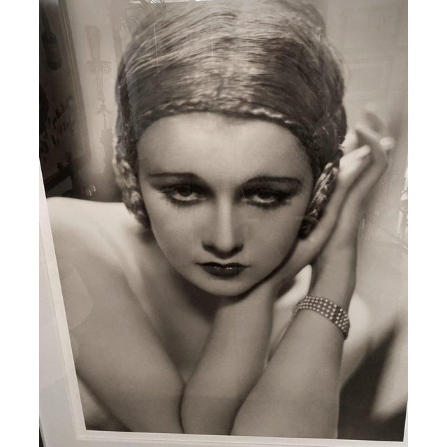 Portraiture Vintage 2000 George Hurrell Anita Page Digital Photograph Based on Restored 1930 Negative For Sale - Image 3 of 9