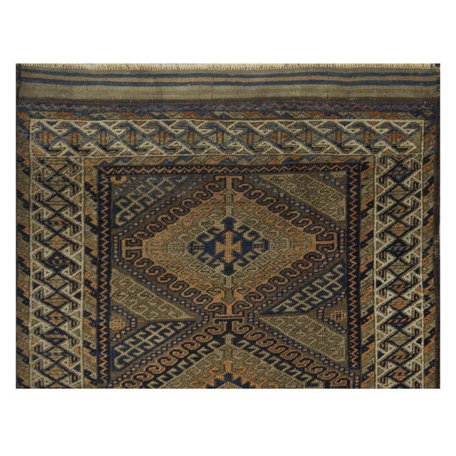 Antique Persian Balouch Rug - 3' x 5' - Image 2 of 4
