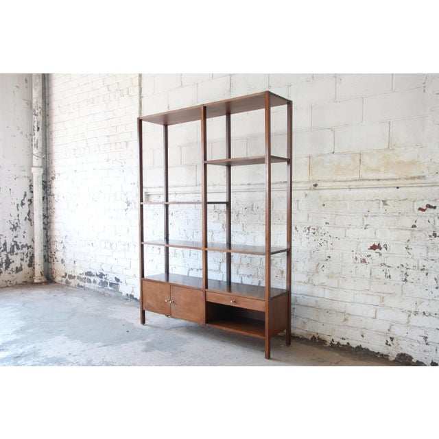 Mid 20th Century Paul McCobb Planner Group Mid-Century Wall Unit or Room Divider For Sale - Image 5 of 11