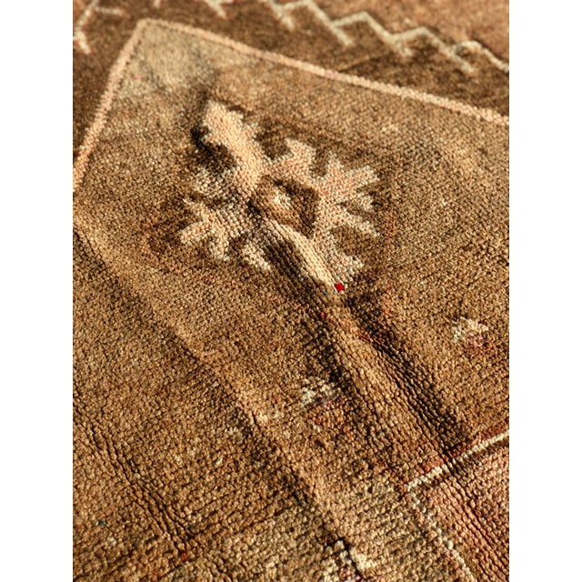 1950s Turkish Oushak Wide Runner For Sale - Image 9 of 13