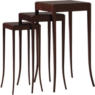 Barbara Barry for Baker Nesting Tables - Set of 3 For Sale