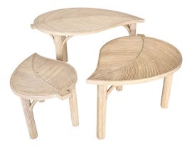 Image of Rattan Nesting Tables