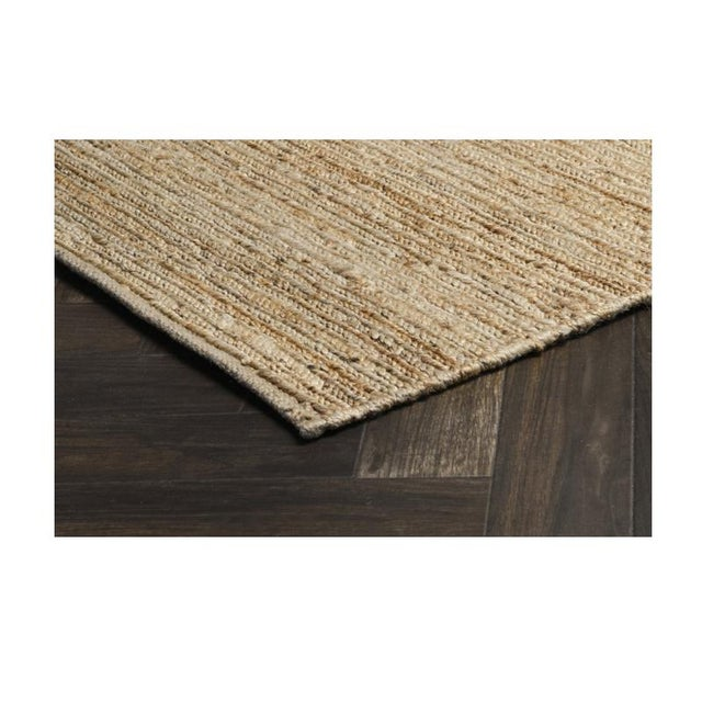 Our handwoven Soumak jute rug in natural is replete with organic appeal and enticing texture. This tonal hand-woven design...