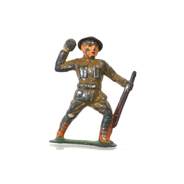 1940s Set of Lead War Toys - Image 5 of 6