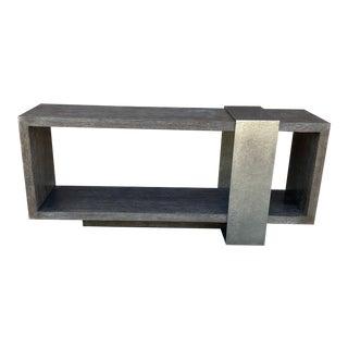 Bernhardt Linea Contemporary Console Table For Sale