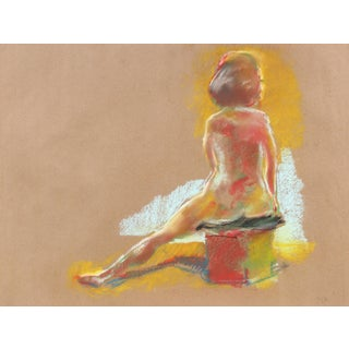 Figure by J. Freeman 1970 For Sale