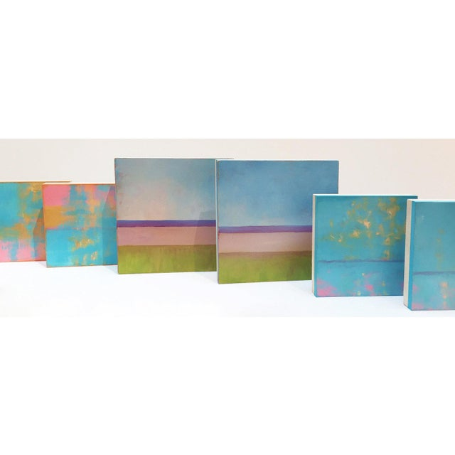 Abstract Carol C Young, Day Glow 2, 2018 For Sale - Image 3 of 4