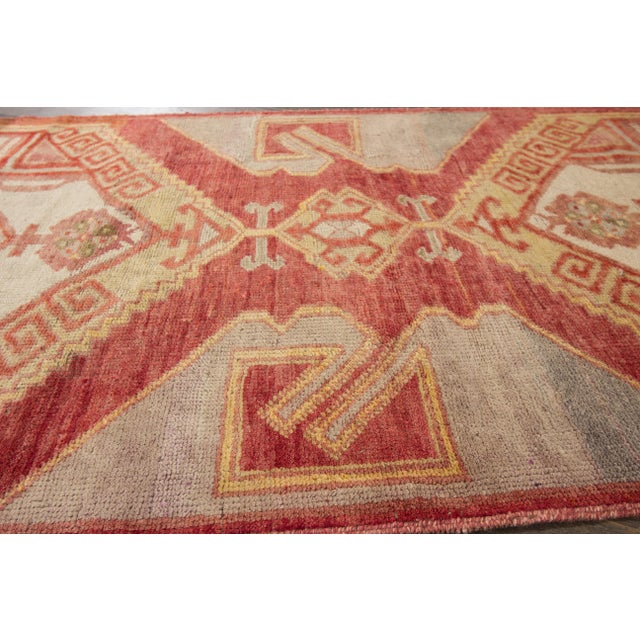 "Apadana - Vintage Turkish Anatolian Rug, 3'3"" x 10'3"" For Sale - Image 5 of 7"