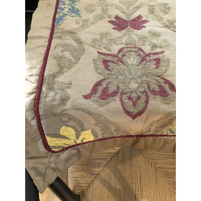 Clarence House Silk Throw For Sale In Washington DC - Image 6 of 8