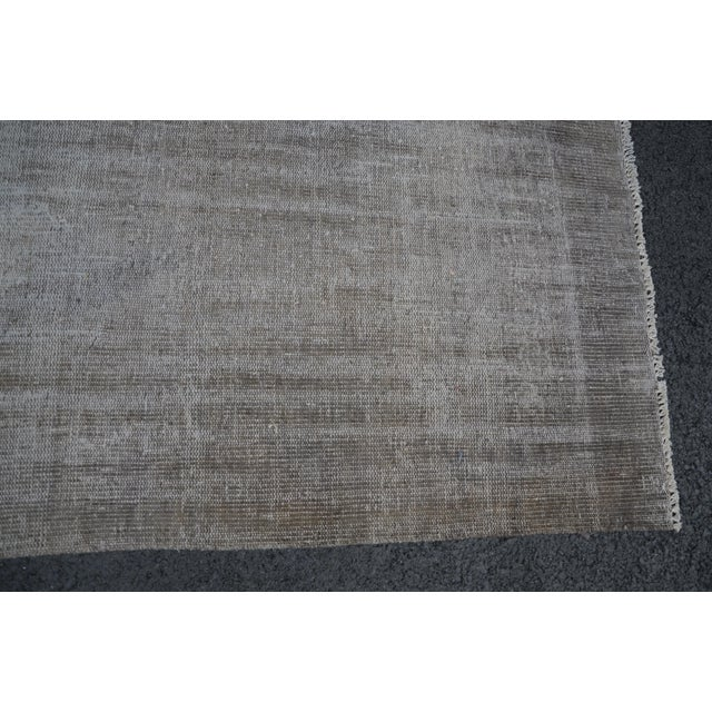 Tribal Turkish Antique Wool Floor Rug - 5′6″ × 9′5″ For Sale - Image 5 of 7