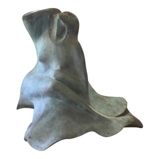 Late 20th Century Bruce Turnbull Bronze Sculpture For Sale