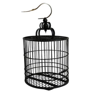 Woven Bamboo Birdcage For Sale