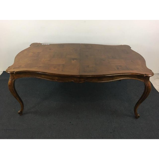 Vintage Henredon French Provincial Style Dining Table