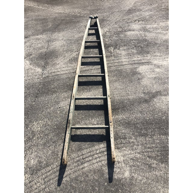 Gray Authentic American Country Apple Ladder For Sale - Image 8 of 8