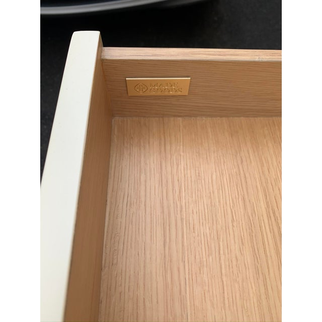 2010s Faux Horn Ivory Writing Desk From Made Goods For Sale - Image 5 of 9