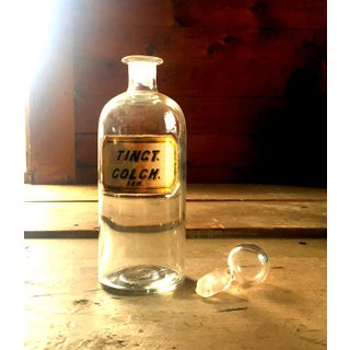1860s Doctors Apothecary Pharmacy Bottle Preview