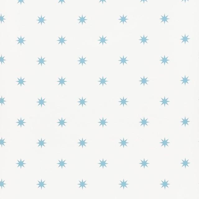 Schumacher Schumacher Stargaze Wallpaper in Blue For Sale - Image 4 of 5