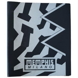 Memphis Milano Postmodern Catalogue, 1980s For Sale