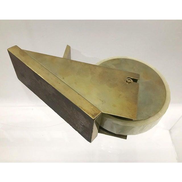 Metal Mid-20th Century Modernist Tape Dispenser For Sale - Image 7 of 9