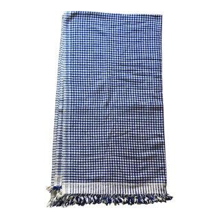 "Antique Homespun Throw Blanket - 53"" x 78.5"""