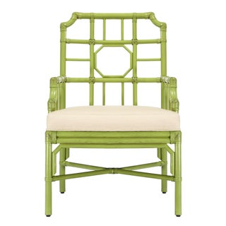 Selamat Designs Regeant Kiwi Green Arm Chair