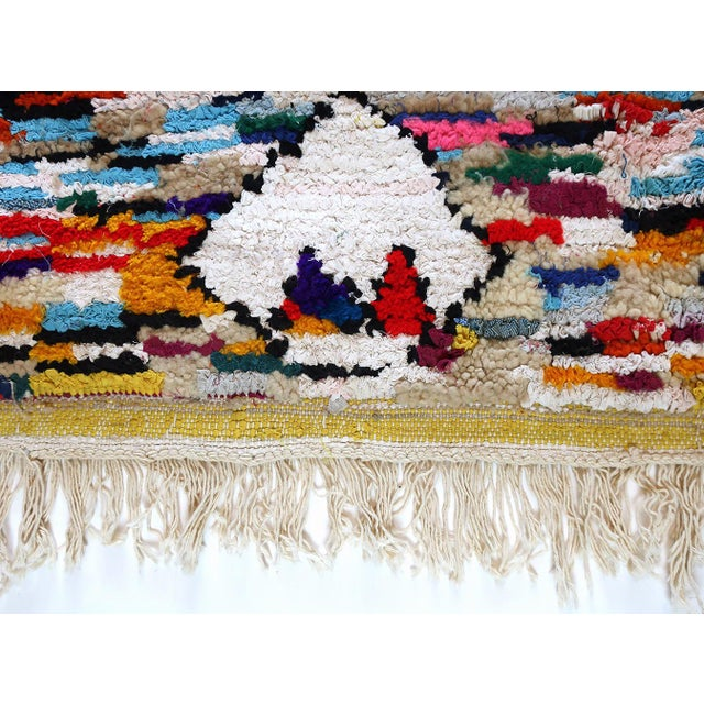 Boucherouite rugs are the shaggy, funky, crazy cousins of the traditional rag rug. Made from recycled fabric strips they...
