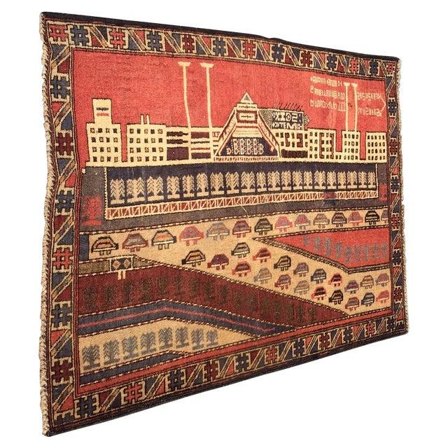"Vintage Baluchi Persian Rug - 2'11"" x 3'10"" - Image 1 of 10"