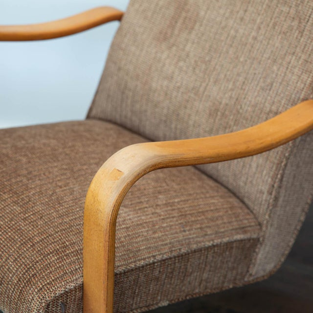Fresh from an HBO movie about the life of Joe Paterno starring Al Pacino, this pair mid-century modern era tall back...