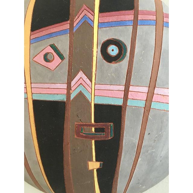 Louis Mendez Studio Pottery Wall Mask - Image 4 of 5