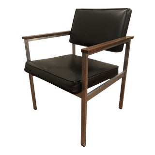 Mid-Century Modern Knoll 900 Art Metal Inc Executive Chair For Sale