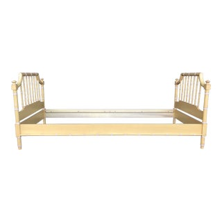 Vintage Thomasville Allegro Faux Bamboo Daybed For Sale