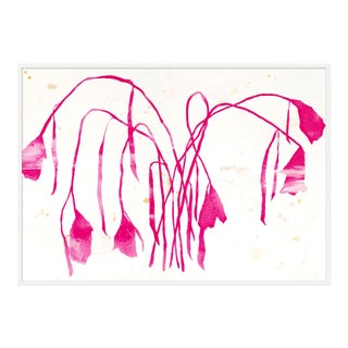"XL ""Pink Daffodil"" Print by Kate Roebuck, 60"" X 43"" For Sale"