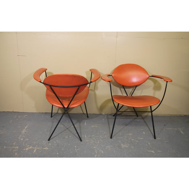 1950s Joseph Cicchelli for Reilly-Wolff Lounge Chairs - a Pair For Sale - Image 5 of 8