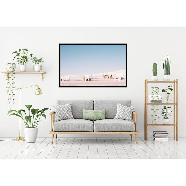 2010s White Sands Landscape Original Framed Photograph For Sale - Image 5 of 6