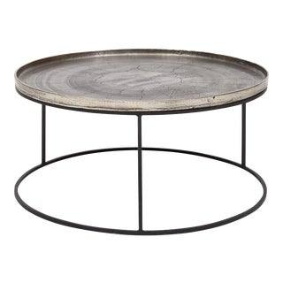 Sana Coffee Table in Silver