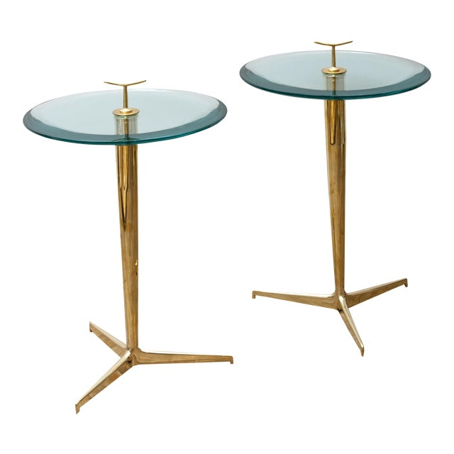 Pair of Side Tables by Poggi Circa 1990 For Sale