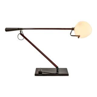 Rare Mid-Century Italian Design Desk Lamp by Paolo Rizzatto and Gino Sarfatti for Arteluce, 1975 For Sale
