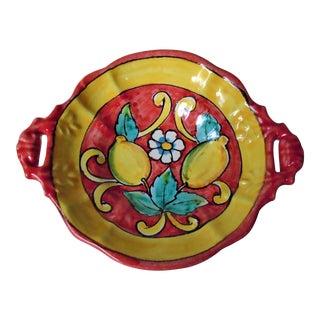 """Vietri """"Lemon"""" Decorative Bowl For Sale"""