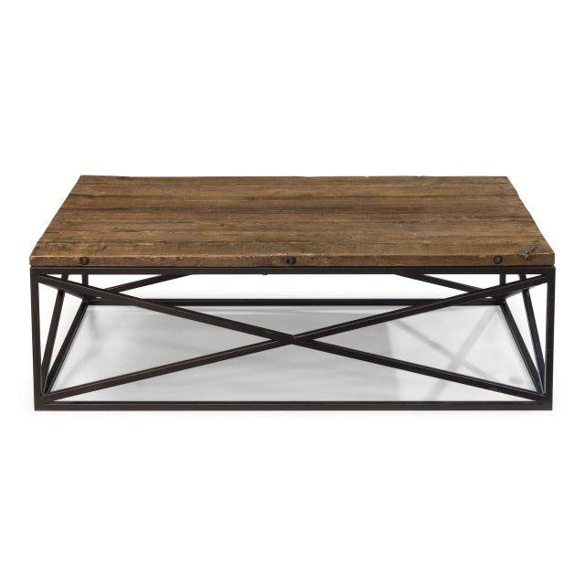 Contemporary Sarreid Ltd Dockworker Board Coffee Table For Sale - Image 3 of 9