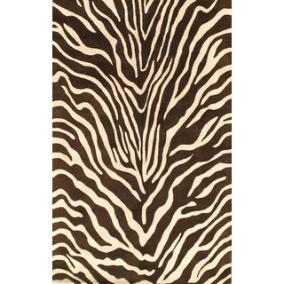Pasargad Ny Handmade Hand-Tufted Area Rug - 5' X 8' For Sale