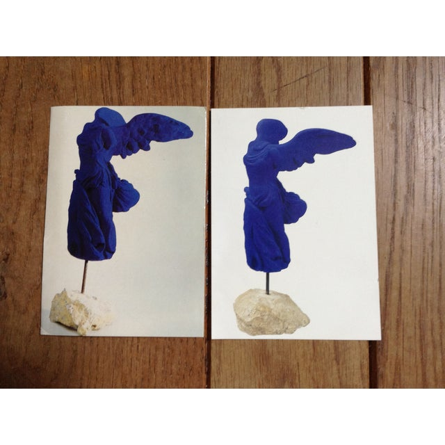 Yves Klein Cobalt Blue Winged Victory Prints - A Pair - Image 2 of 3