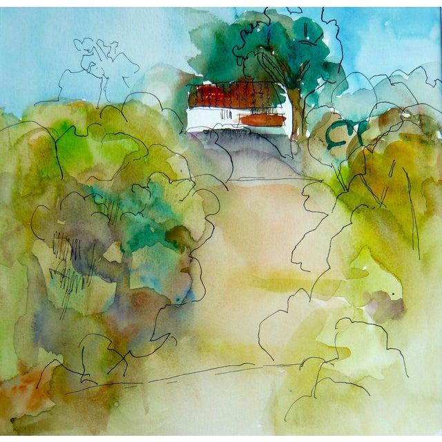 Ranch Santa Barbara Painting by M. Holden - Image 3 of 5