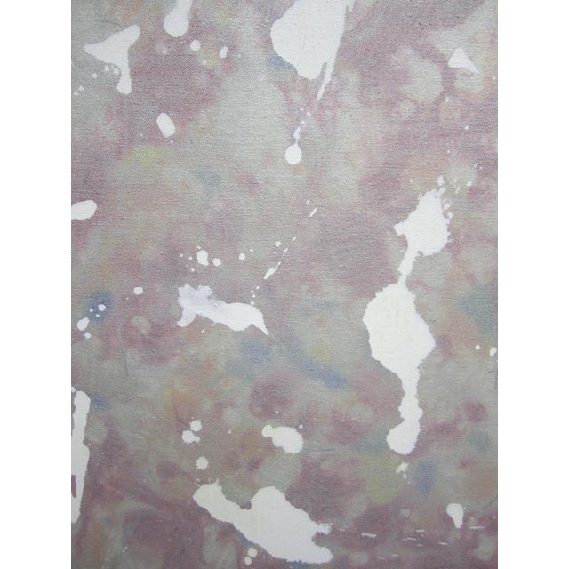 """Abstract """"California Suite #4"""" or """"Silver Screen"""" Painting by Gerald Campbell For Sale - Image 3 of 5"""