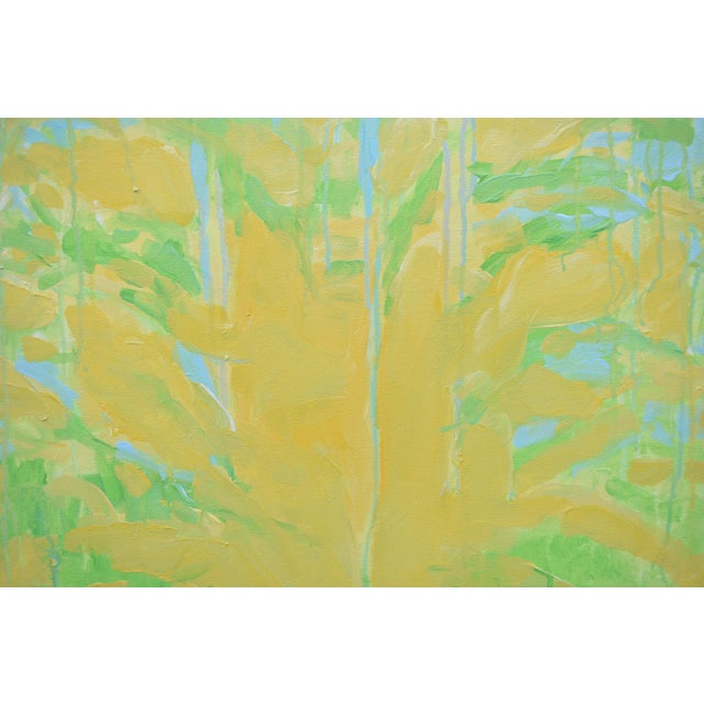 """Acrylic Paint Contemporary Abstract """"Keep on the Sunny Side"""" Painting by Stephen Remick For Sale - Image 7 of 11"""