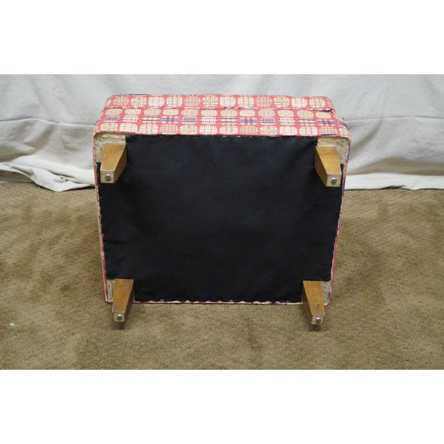 Newerly Upholstered Barrel Back Lounge Chair For Sale - Image 10 of 10