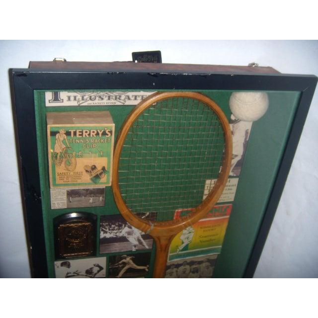 English Tennis Shadow Box - Image 3 of 7