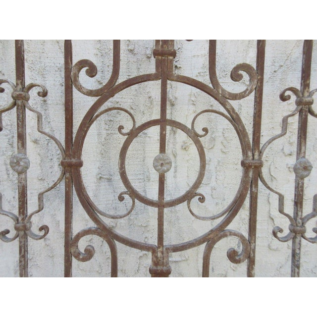 Antique Victorian Iron Gate or Garden Fence - Image 5 of 7