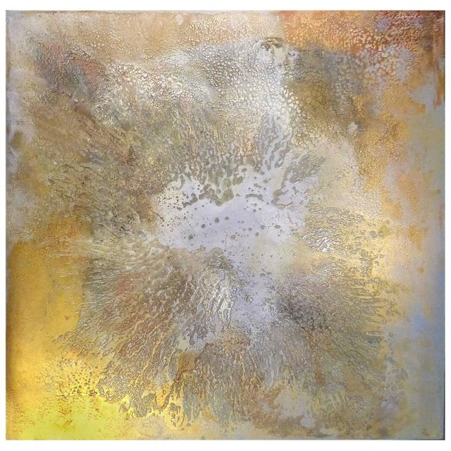 """Contemporary Abstract Titled """"Asteroid"""" by Brazilian Artist Andre Brandao For Sale - Image 10 of 10"""